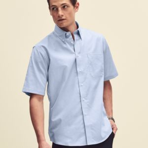 Men's Short Sleeve Oxford Shirt Thumbnail