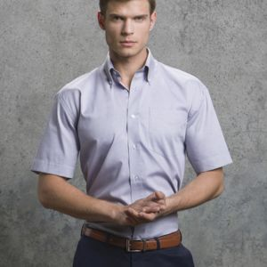 Men's Short Sleeve Corporate Oxford Shirt Thumbnail