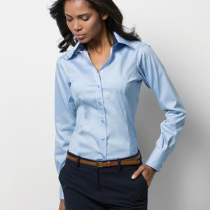 Kustom Kit Ladies Contrast Premium Shirt Thumbnail