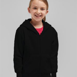 Kid's Full Zip Hooded Sweatshirt Thumbnail