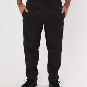 Black Elasticated Trouser Thumbnail