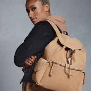Vintage Canvas Backpack Thumbnail