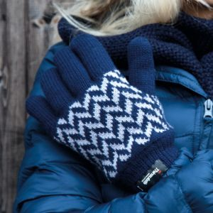 Result Winter Pattern Thinsulate Gloves Thumbnail