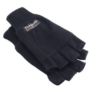 3M Thinsulate Half Finger Gloves Thumbnail