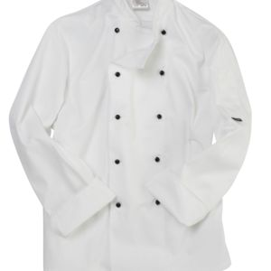 Lightweight Long Sleeve Chefs Jacket Thumbnail