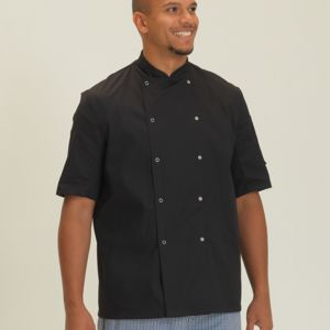 Economy Short Sleeve Chef's Jacket Thumbnail