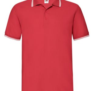 Fruit Of The Loom Men's Tipped Polo Thumbnail