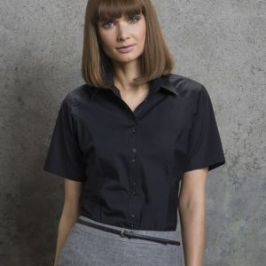 Ladies' City Short Sleeve Business Shirt Thumbnail