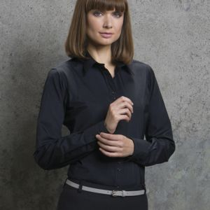 Ladies' City Long Sleeve Blouse Thumbnail