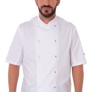 Short Sleeve Chef's Jacket Thumbnail