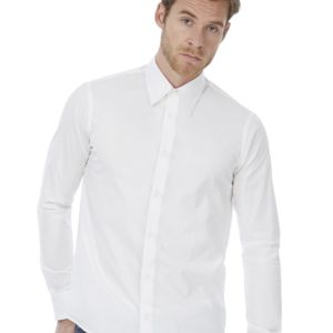 B&C London Mens Poplin Shirt Thumbnail