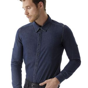 B&C DNM Vision Mens Denim Shirt Thumbnail