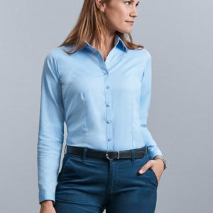 Russell Collection Ladies H'Bone Shirt Thumbnail